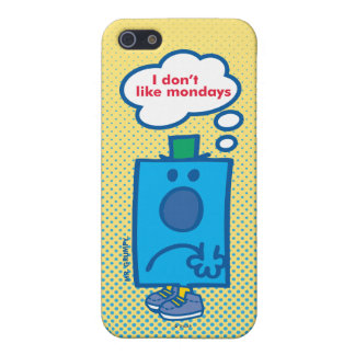 Mr Grumpy | I Don't Like Mondays Thought Bubble Case For iPhone SE/5/5s