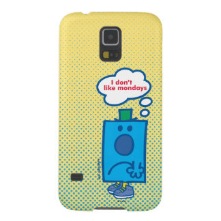Mr Grumpy | I Don't Like Mondays Thought Bubble Galaxy S5 Case