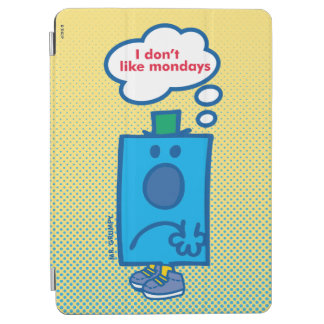 Mr Grumpy | I Don't Like Mondays Thought Bubble iPad Air Cover