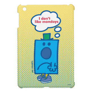 Mr Grumpy | I Don't Like Mondays Thought Bubble iPad Mini Case