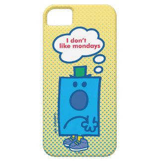 Mr Grumpy | I Don't Like Mondays Thought Bubble iPhone SE/5/5s Case