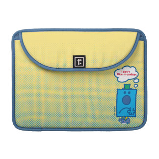 Mr Grumpy | I Don't Like Mondays Thought Bubble MacBook Pro Sleeve