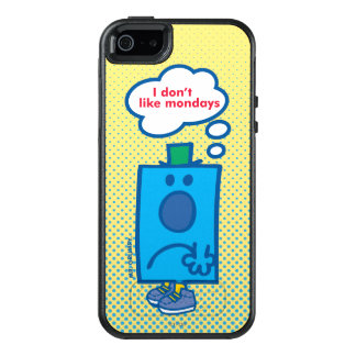 Mr Grumpy | I Don't Like Mondays Thought Bubble OtterBox iPhone 5/5s/SE Case