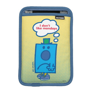 Mr Grumpy | I Don't Like Mondays Thought Bubble Sleeve For iPad Mini