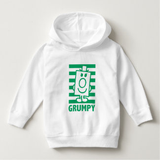 Mr Grumpy | Mischievous Grin and Green Stripes Hoodie