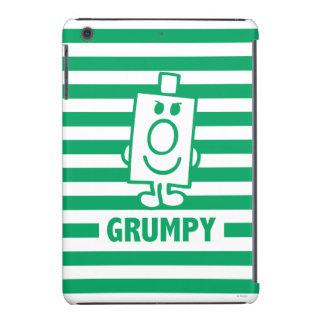 Mr Grumpy | Mischievous Grin and Green Stripes iPad Mini Retina Cases