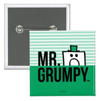 Mr Grumpy | Peeking Head Over Name Button