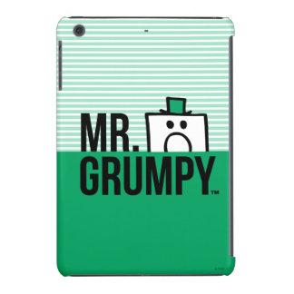 Mr Grumpy | Peeking Head Over Name iPad Mini Cover