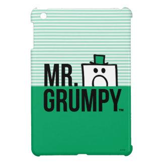 Mr Grumpy | Peeking Head Over Name iPad Mini Covers
