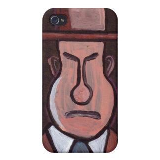 Mr Grumpy phone case Case For iPhone 4