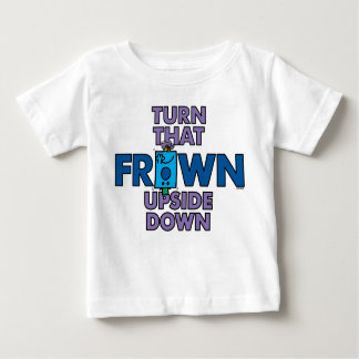 Mr Grumpy | Turn That Frown Upside Down Baby T-Shirt