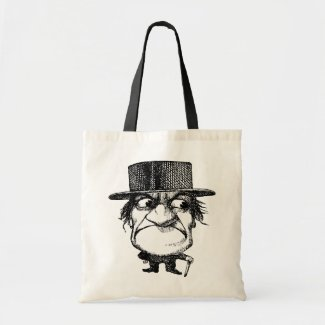 Mr Grumpyhead bag