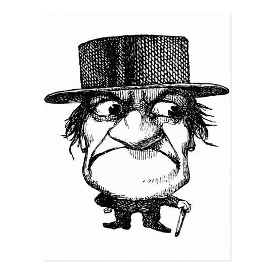 Mr Grumpyhead Postcard