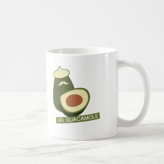 Mr. Guacamole Classic White Coffee Mug