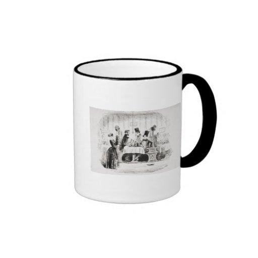 Mr. Guppy's entertainment Ringer Coffee Mug