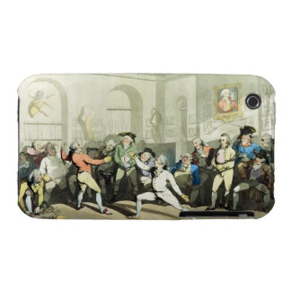 Mr H Angelo's Fencing Academy, engraved by Charles iPhone 3 Case