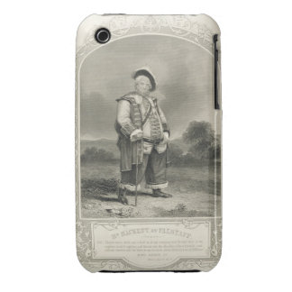 Mr Hackett as Falstaff, in Henry IV (Part 1) Act I iPhone 3 Cover