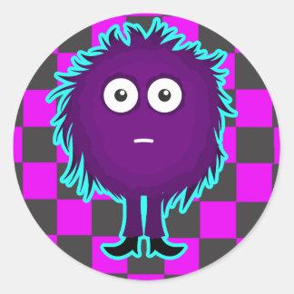 Mr. Hairball Sticker