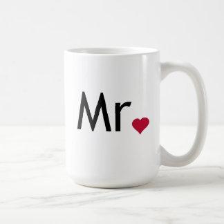 Mr - half of Mr and Mrs set Coffee Mugs