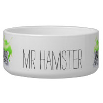 Mr Hamster | custom name Bowl