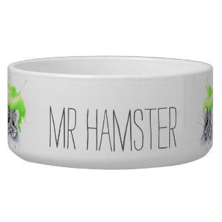 Mr Hamster | custom name Bowl