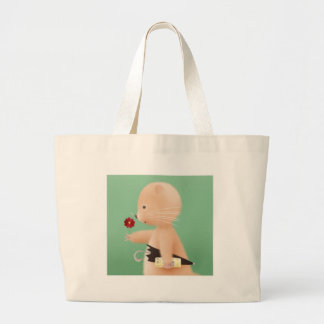 Mr Hamster goes to work Canvas Bags