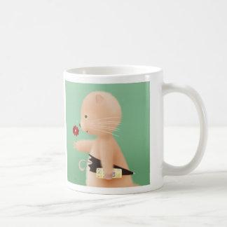 Mr Hamster goes to work Coffee Mugs