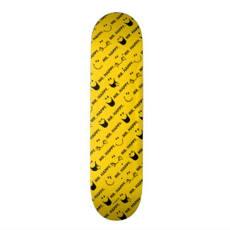 Mr Happy | All Smiles Pattern Skateboard Deck