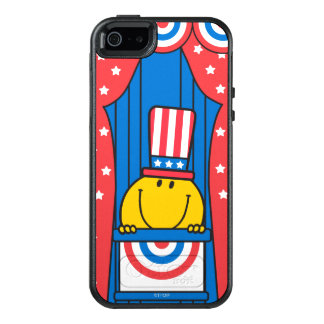 Mr. Happy at the Podium 3 OtterBox iPhone 5/5s/SE Case