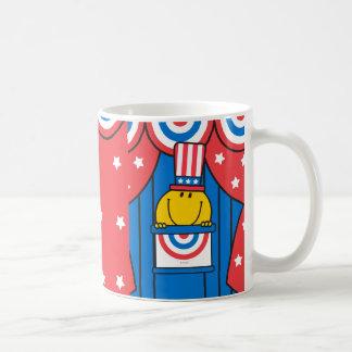 Mr. Happy at the Podium Coffee Mug