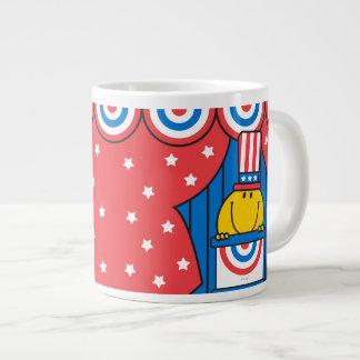 Mr. Happy at the Podium Giant Coffee Mug