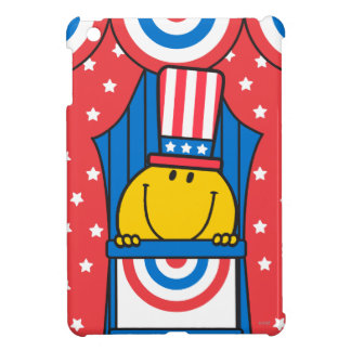 Mr. Happy at the Podium iPad Mini Covers