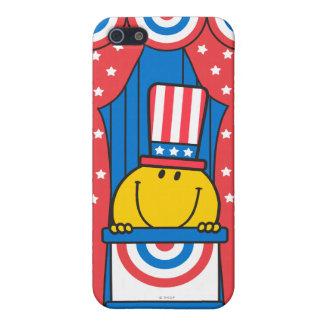 Mr. Happy at the Podium iPhone SE/5/5s Cover