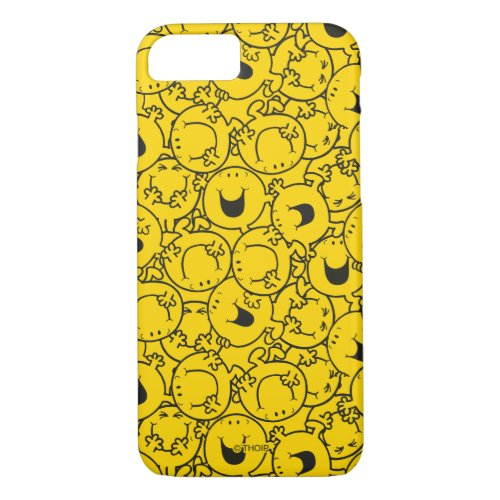 Mr  Happy   Batch of Yellow Smiles Pattern Phone Case