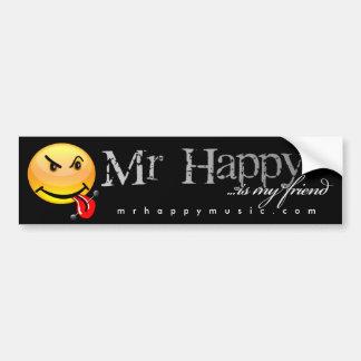 Mr. Happy Bumper Sticker