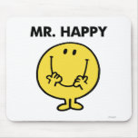 Mr Happy Classic 1 Mouse Pad