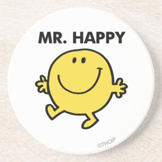 Mr Happy Classic 2 Beverage Coasters