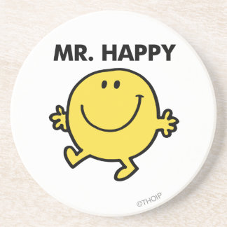 Mr. Happy | Dancing & Smiling Coaster