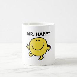 Mr. Happy   Dancing & Smiling Coffee Mug