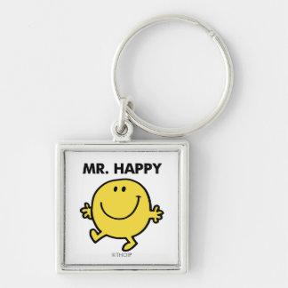 Mr. Happy   Dancing & Smiling Keychain