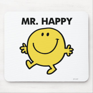 Mr. Happy | Dancing & Smiling Mouse Pad