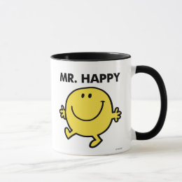 Mr. Happy   Dancing & Smiling Mug