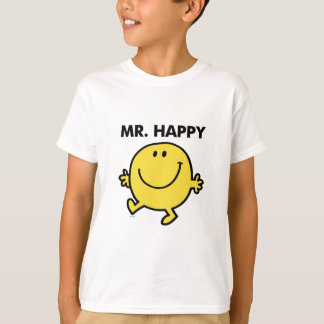 Mr. Happy   Dancing & Smiling T-Shirt