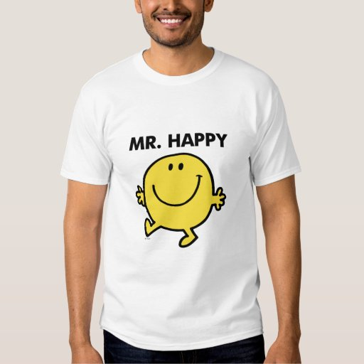 Mr. Happy Dancing & Smiling T Shirt