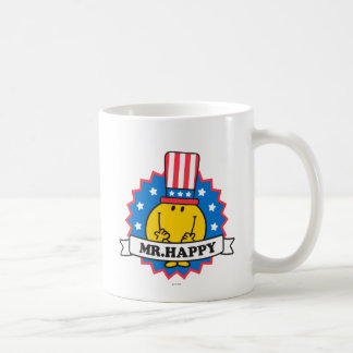 Mr. Happy Election Seal Coffee Mug