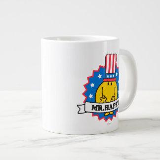 Mr. Happy Election Seal Giant Coffee Mug