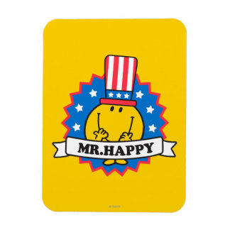 Mr. Happy Election Seal Magnet