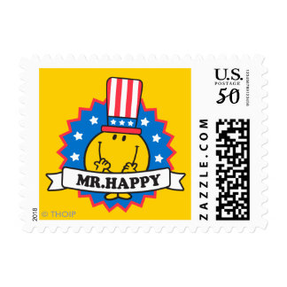 Mr. Happy Election Seal Postage