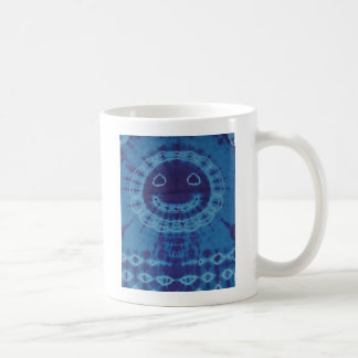 Mr. Happy Face Tie Dye :) Coffee Mug