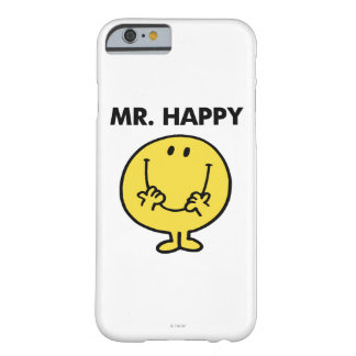 Mr. Happy   Giant Smiley Face Barely There iPhone 6 Case